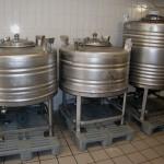 Edelstahlcontainer 500L & 800L